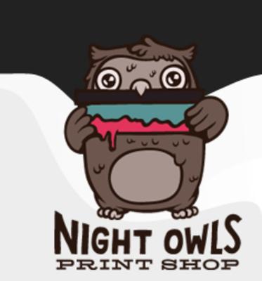Night Owls Print Shop Hsd inFar North - Houston, TX Screen Printing