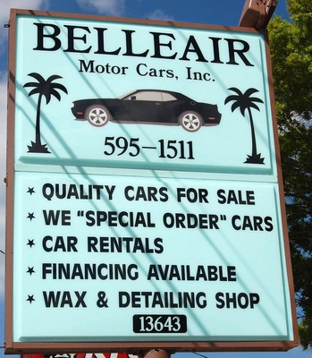 Belleair Motor Cars Inc in Largo, FL 33774 Automobile Rental & Leasing