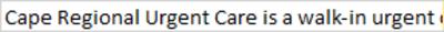 Cape Regional Urgent Care in Wildwood, NJ Urgent Care Centers