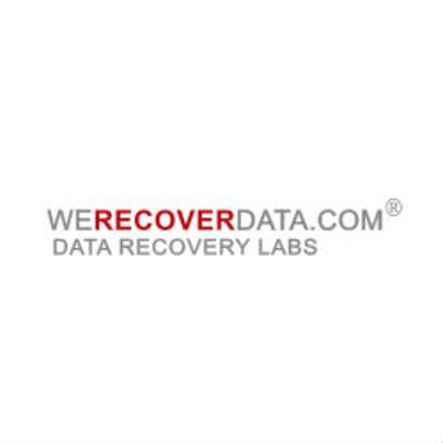 WeRecoverData Data Recovery Inc. in Aventura, FL Data Recovery Service