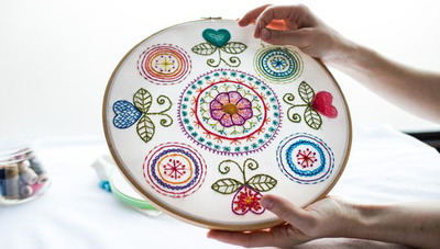 Hand Embroidery in New York, NY Art