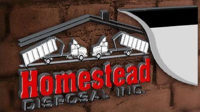 Homestead Disposal, Inc in westwood, MA Dumpster Rental