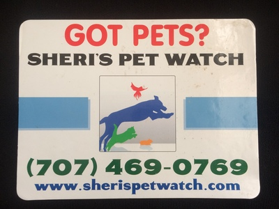 Sheri's Pet Watch in Vacaville, CA 95688 House & Pet Sitting Services