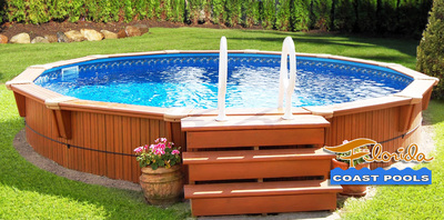 Florida Coast Above Ground Pools in Melbourne, FL Boating & Swimming Clubs