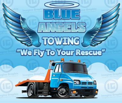 blue Angel's towing in las Vegas, NV 89102 Automobile Body Repairing Painting & Towing