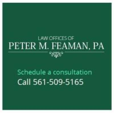 Law Offices of Peter M. Feaman, P.A. in Boynton Beach, FL 33436 Legal & Tax Services
