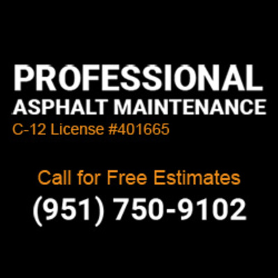 Professional Asphalt Maintenance in Perris, CA Asphalt Paving Contractors
