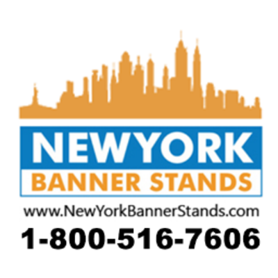 New York Banner Stands in Chelsea - New York, NY 10001 Convention & Visitors Services Signs Banners & Other Printing Services