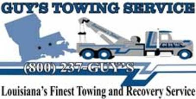Guy's Towing Service in Baton Rouge, LA 70805 Auto Towing & Road Services