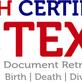 Photo of Birth Certificate Texas
