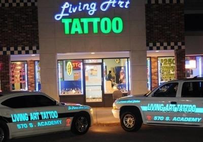 Living Art Tattoo Studio in Southeast Colorado Springs - Colorado Springs, CO 80910 Tattoos