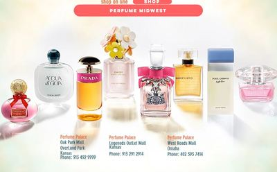 Perfume Palace Oak Park Mall in Overland Park, KS 66214 Cosmetics & Perfumes
