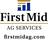 First Mid Bank & Trust Bourbonnais in Bourbonnais, IL 60914 Banks