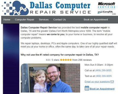 Arlington Computer Repair Service in Central - Arlington, TX 76004 Computer Repair