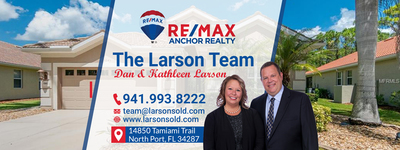 RE/MAX Anchor Realty : The Larson Team in North Port, FL 34287 Real Estate Agents & Brokers