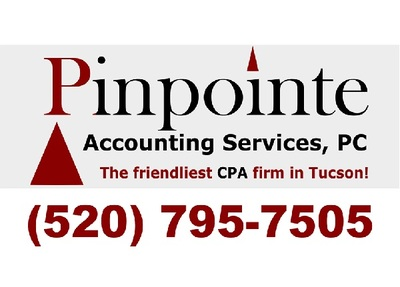 Pinpointe Accounting Services in Tucson, AZ 85715 Accounting Consultants