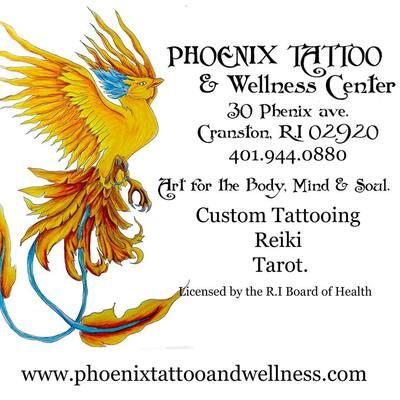 Phoenix Tattoo and Wellness Center in Cranston, RI 02920 Exporters Tattooing