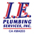 I.E. Plumbing Services Inc in Temecula, CA 92590 Plumbing Contractors