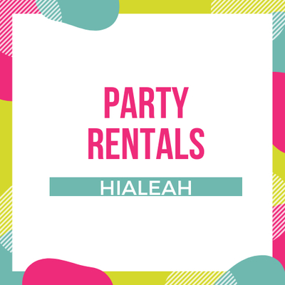 Party Rental Miami in Hialeah, FL 33018 Banquet, Reception, & Party Equipment Rental