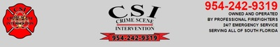 Crime Scene Intervention in Pompano Beach, FL 33062 Cleaning Equipment & Supplies