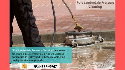Pressure Washing Fort Lauderdale FL in Victoria Park - Fort Lauderdale, FL 19422 Power Wash Water Pressure Cleaning