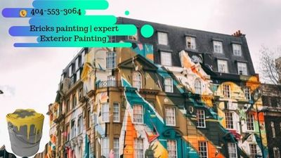 Professional Painting Company Atlanta GA in Oakland City - Atlanta, GA 30310 Hand Painting & Decorating