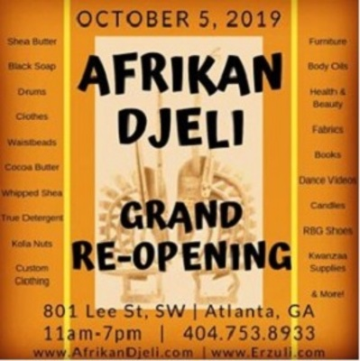 Afrikan Djeli Import Warehouse in West End - Atlanta, GA 30310 Clothing Consultants