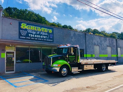 Schulte's Enterprise LLC in New Stanton, PA Road Service & Towing Service