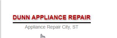 Dunn Appliance Repair in Springfield, IL 62704 Appliance Repair Services