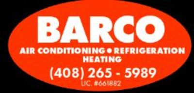 BARCO Air Conditioning & Refrigeration in Hayward, CA 94543 Commercial Refrigerating Equipment Sales & Service