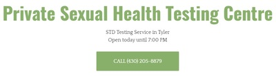 Private Sexual Health Testing Centre in Tyler, TX 75701 Clinics