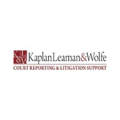 Kaplan Leaman & Wolfe Court Reporters of New York in New York, NY 10018 Court & Convention Reporters
