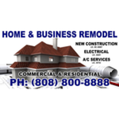 Home & Business Remodel C.services in Honolulu, HI 96817 Plumbers - Information & Referral Services