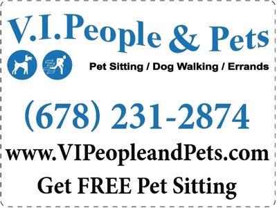 V.I.People & Pets in Kennesaw, GA 30144 Pet Sitting Services