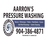Aarron's Pressure Washing in Ponte Vedra Beach, FL 32082 Home & Garden Products