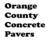 Orange County Concrete Pavers in Newport Beach, CA 92658 Concrete Contractors