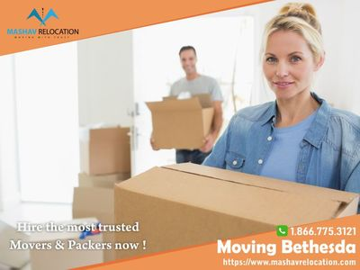 Moving  Bethesda  in Baltimore, MD 20705 Moving Specialty Services