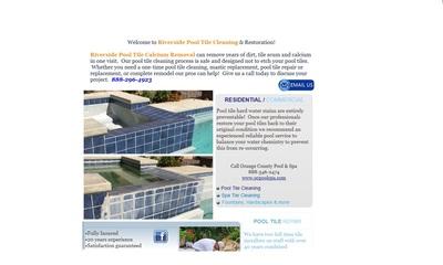 Pool Rehab Pool Tile Cleaning in Riverside, CA 92503 Swimming Pools Service & Repair