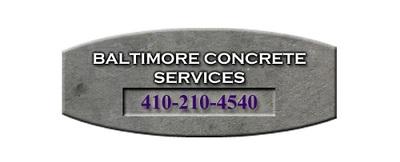Baltimore Concrete Services in Baltimore, MD 21225 Concrete