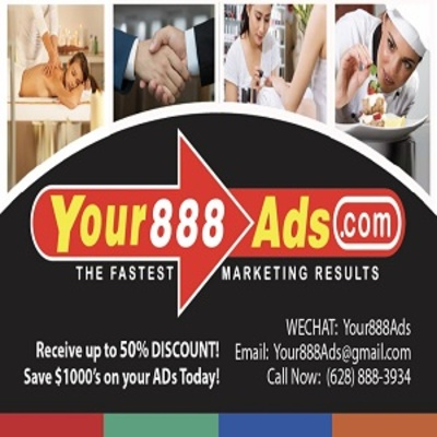 Your 888 Ads in Orlando, FL 32801 Advertising Graphics