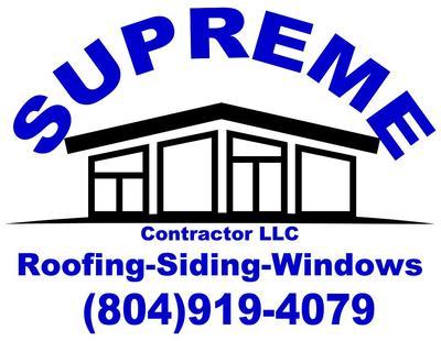 Supreme Contractor LLC in Richmond, VA 23233 Roofing Contractors