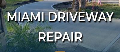 Miami Driveway Repair in Miami, FL 33186 Driveway Resurfacing