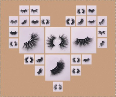 the most popular 25mm mink lashes in New York, NY 10012 Fingernails & Eye Lashes Artificial