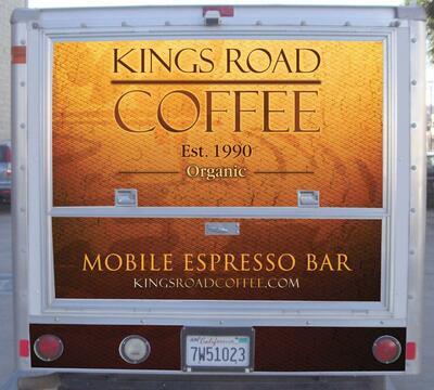 Kings Road Coffee Truck in Los Angeles, CA 90036