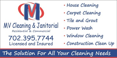 MV CLEANING AND JANITORIAL in Las Vegas, NV 89103 Cleaning & Maintenance Services