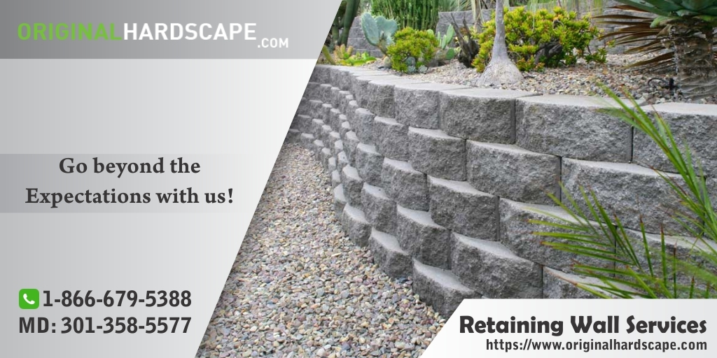 Retaining Walls Service in Rockville